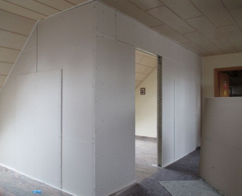 Trockenbauwand in Speyer 4