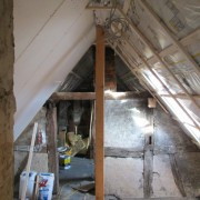 Trockenbaudecke Dachschräge