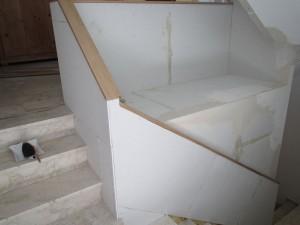 Trockenbau Geländer und Podest