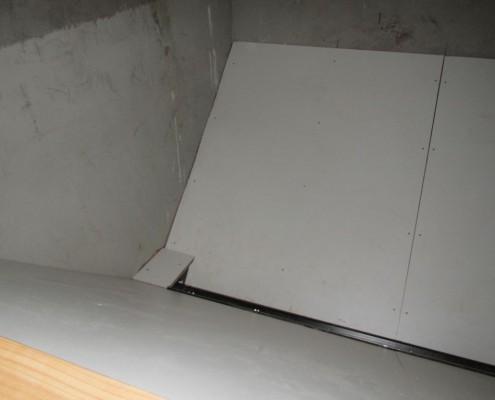 Innenausbau eines Pelletsilo 004