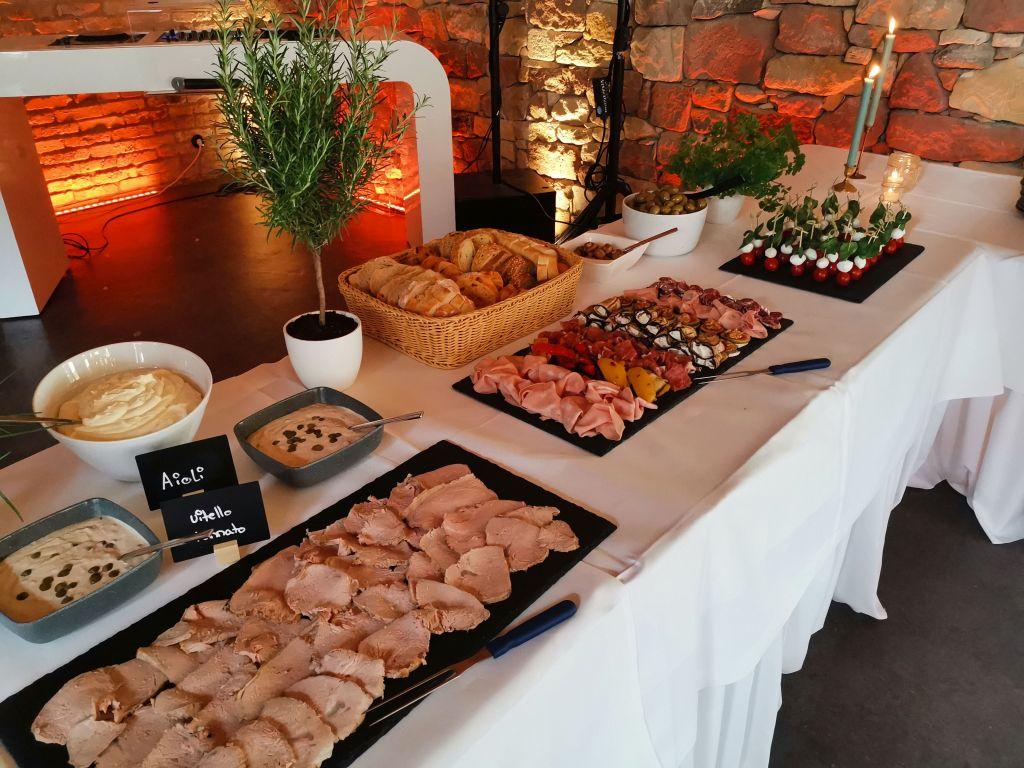 PFALZ BBQ,Hochzeitscatering Antipastibuffet