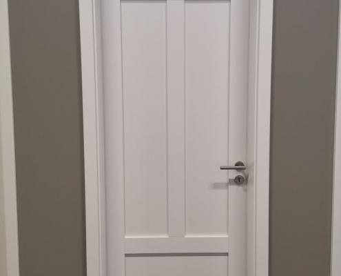 Türen, einbauen, tauschen, Kassettentür